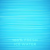 Blue ice texture background