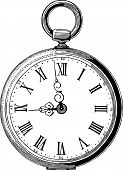 Antique Pocket Watch.eps