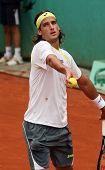 Feliciano Lopez At Roland Garros