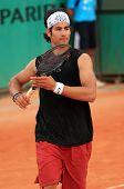 Ilia Bozoljac At Roland Garros