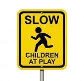 Cuidado con los niños están presentes
