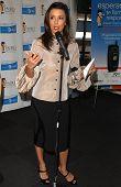 Eva Longoria at press conference annoucing ATT's ,000 donation to Padres Contra El Cancer. Cingular Wireless, Burbank, CA. 02-06-07