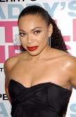 Tisha Campbell at the premiere of