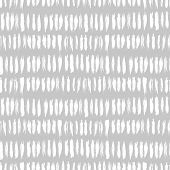 picture of bohemian  - Hand drawn striped seamless pattern with short vertical brushstrokes in light grey color - JPG