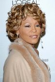 Whitney Houston at the 2007 Clive Davis Pre-Grammy Awards Party. Beverly Hilton Hotel, Beverly Hills