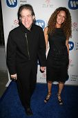 Richard Lewis and wife Joyce at the Warner Music Group 2007 Grammy After Party. The Cathedral,  Los Angeles, CA. 02-11-07