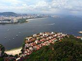 Urca Beach, Rio de Janeiro, Brazil poster