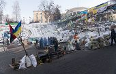 Barricades In Kiev
