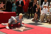 Ellen Degeneres, Portia de Rossi, Betty Degeneres at the Ellen Degeneres Star on the Hollywood Walk