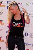 Diem Brown at the 2012 Stand Up to Cancer, Shrine Auditorium, Los Angeles, CA 09-07-12