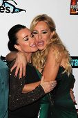Kyle Richards, Taylor Armstrong at