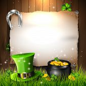 stock photo of shamrocks  - St - JPG