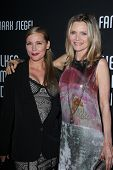 Dedee Pfeiffer, Michelle Pfeiffer at the 8th Annual Pink Party, Hangar 8, Santa Monica, CA 10-27-12