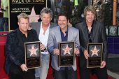 David Foster with Rascal Flatts, Gary LeVox, Jay Demarcus and Joe Don Rooney at the Rascal Flatts Star on the Hollywood Walk of Fame, Hollywood, CA 09-17-12