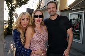 Jennifer Blanc, Jenise Blanc, Michael Biehn at