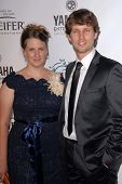 Kirsten Heder, Jon Heder at Heifer International's