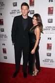 Cory Monteith, Lea Michele at the Premiere Screening of FX's