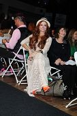 Phoebe Price at the Maggie Barry SS 2013 Runway Show, Exchange LA, Los Angeles, CA 10-15-12