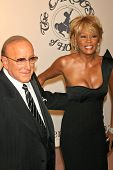 Clive Davis and Whitney Houston at the 17th Carousel of Hope Ball to benefit The Barbara Davis Cente