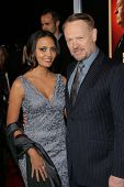 Jared Harris and Allegra Riggio at the