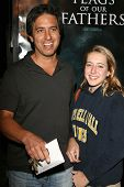 Ray Romano and daughter Alexandra at the premiere of