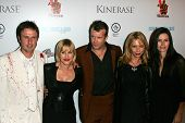 L-R David Arquette, Patricia Arquette, Thomas Jane, Rosanna Arquette, and Courteney Cox at the World
