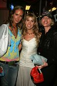 Lady Victoria Hervey, Julia Verdin and Jenny McShane at the Grand Re-Opening of the Ed Hardy Melrose Store, Hollywood, CA 10-19-06