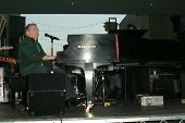 Jerry Lee Lewis at the Jerry Lee Lewis in-store appearance and performance. Virgin Megastore, Hollyw