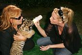 Martine Collette and Nicolette Sheridan at 2006 Safari Brunch Fundraiser For The Wildlife Waystation