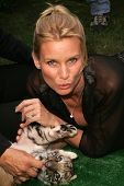 Nicolette Sheridan at 2006 Safari Brunch Fundraiser For The Wildlife Waystation. Playboy Mansion, Lo