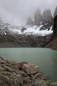 Three Towers Of Torres Del Paine