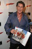 David Hasselhoff  at the DVD Release of