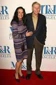 Sumner Redstone and wife Paula at The Museum of Television & Radio's Annual Los Angeles Gala. Regent Beverly Wilshire Hotel, Beverly Hills, CA. 10-30-06