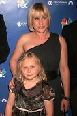Patricia Arquette and Maria Lark at the NBC fall party for the hit drama