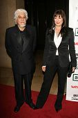 Anjelica Huston and husband Robert at the 21st Annual American Cinematheque Award Honoring George Cl