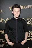 Chris Colfer at the Hollywood Foreign Press Association And InStyle Miss Golden Globe 2013 Party, Ce