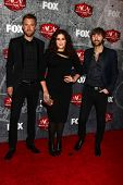 Charles Kelley, Hillary Scott and Dave Haywood of Lady Antebellum at the 2012 American Country Award