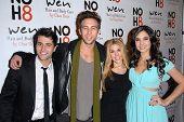 Freddie Smith, Blake Berris, Kate Mansi, Camila Banus at the NOH8 Campaign 4th Anniversary Celebration, Avalon, Hollywood, 12-12-12
