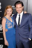 Jessica Chastain, Edgar Ramirez at the