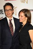 LOS ANGELES - NOVEMBER 7: Robert Downey Jr. and Susan Downey at The Hollywood Reporters Next Generat