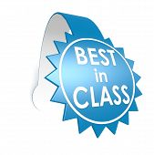 picture of first class  - Best In Class Star Label image with hi - JPG