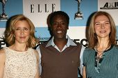 LOS ANGELES - NOVEMBER 28: Felicity Huffman with Don Cheadle and Dawn Hudson at the 2007 Film Indepe