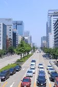 Nagoya downtown CBD Japan