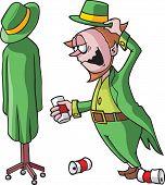 Drunk leprechaun