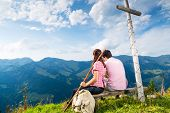 pic of bavarian alps  - Hiking  - JPG