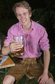 Young Bavarian Man