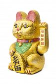 The Maneki Neki is an ancient cultural icon from japan. The welcoming cat supposedly brings great we