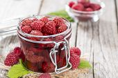 Canned Raspberries
