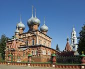 The Resurrection Church On The Debra, Kostroma