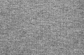 Texture Of Knitted Fabric Gray Color